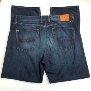 Lucky Brand 181 Relaxed Straight 38x32 Act 40W 34L